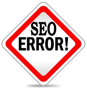ошибки разработчиков и дизайнеров в SEO