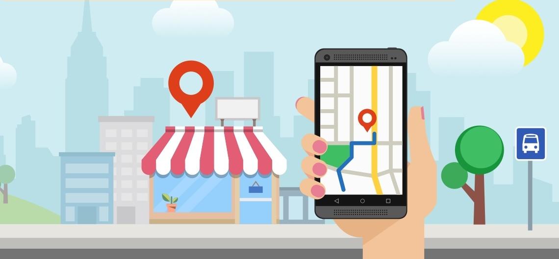 продвижение в Google картах
